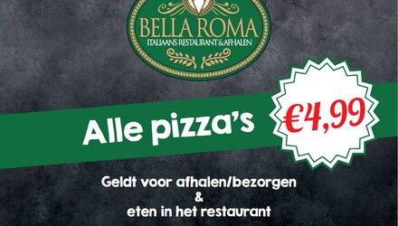 Diner Cadeau Dieren Bella Roma